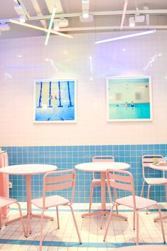 【Style Nanda / SELPHY can be taken in a photogenic shop ♡ in Seoul - Rainbow DIY Rainbow Aesthetic, Pink Aesthetic, Rainbow Photography, Cute Cafe, Rainbow Wallpaper, Memphis Design, Good Old Times, Led Neon Signs, Store Windows
