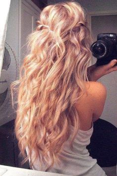 Perfect! want to have my hair this long.