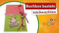✂ Buchbox selber gestalten ★ weihnachtliche Geschenkebox - trendmarkt24