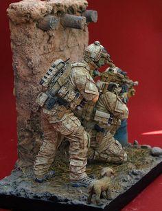 Devgru operators, Airborne Miniatures