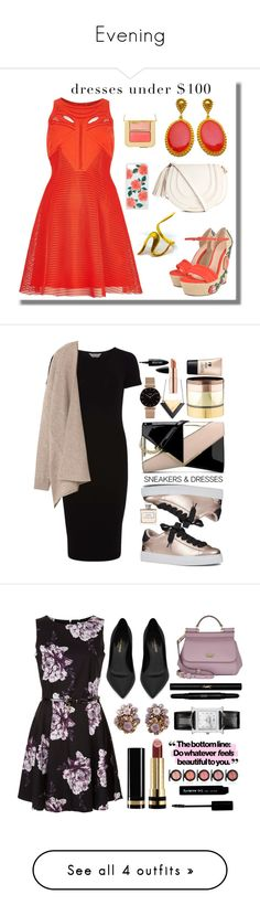 """Evening"" by shatana-nixon ❤ liked on Polyvore featuring River Island, Gucci, Tom Ford, Sonix, vintage, Nine West, Gemma Redux, CLUSE, Ralph Lauren and Dorothy Perkins"