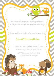 Woodland Baby Shower Theme Ideas - My Practical Baby Shower Guide