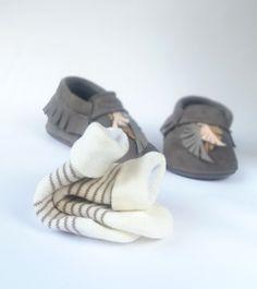 moks - baby leather moccasins