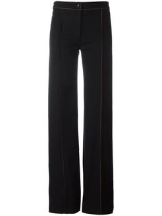 High-rise wide-leg cotton-twill trousers Christophe Lemaire g2AZd