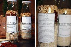 Nicht nur süße Mischungen gibt es aus der Glasflasche... Heute mal herzhaft mit einem Risotto mit getrockneten Tomaten und Pinienkernen! ...