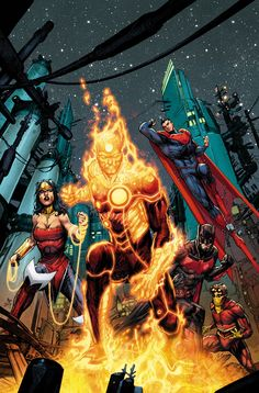 Justice League 3000 #5 by Howard Porter *