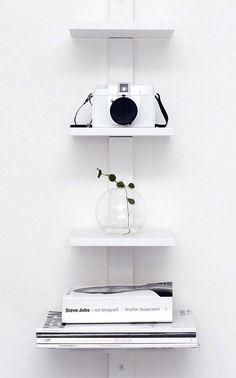 Via Nordic Days | Home of Louise Jansson #white #camera #case #books