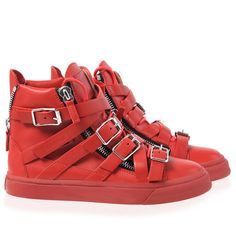 Sneakers - Sneakers Giuseppe Zanotti Design Women on Giuseppe Zanotti Design Online Store @@Melissa Nation@@ - Spring-Summer collection for men and women. Worldwide delivery.  RW4085 004