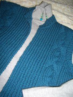 Lion Brand vest, LB wool