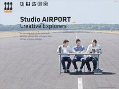 Web design inspiration: Photographic Background - Studio AIRPORT