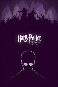 Harry Potter and The Half-Blood Prince - movie poster by Cameron K. Lewis