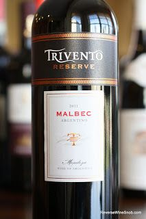Trivento Reserve Malbec 2011 - Your New Rich, Spicy and Smooth House Red. $8, BULK BUY! Looking for a great wine under $10? Here it is!  http://www.reversewinesnob.com/2013/02/trivento-reserve-malbec-2011-mendoza.html