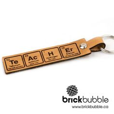 Periodic - Teacher Key Chain #sciene #teachergift #teacher #gift #brickbubble…