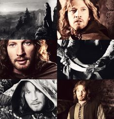 "1/2 ""Captain Faramir, you have shown your quality, sir - the very highest."""