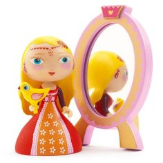 Figurine Arty Toys : Les princesses : Nina & Ze mirror - Djeco-06761