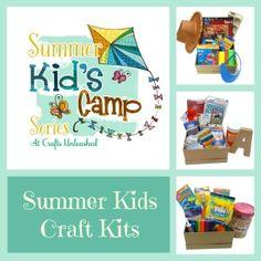 Summer kids craft kits
