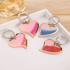 Heart Quicksand Ring Holder Universal Mobile Phone Tablet 360 Rotating iPhone #HeartQuicksandChina