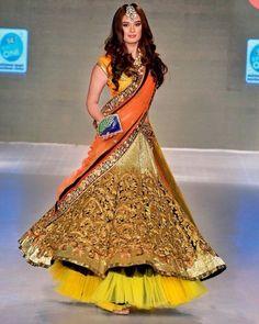 IT'S PG'LICIOUS — beautifulindianbrides: Evelyn Sharma for Vikram... #lehenga