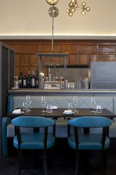 One Kensington Restaurant and Bar in Kensington by the Tamarind Collection Interior & Branding Design by B3 Designers