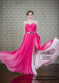 Dare to turn heads and impress with the beautiful Lucia Bella Goddess dress, be one of a kind! <3 👉 http://goo.gl/M05x9s More models available on: www.luciabella.ro 💞  #luciabella #lebanese #dresscollection #summercollection