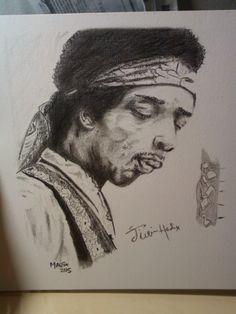 Jimi Hendrix em grafite!