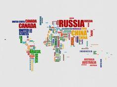 mapa mundi tumblr  Pesquisa Google  VIAJAR O MUNDO  Pinterest