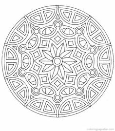 Mandala Coloring pages | FREE coloring pages | #60 - pictures, photos, images