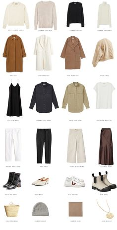 Fall capsule wardrobe because no matter how many trendy pieces we have, gotta pair them with the basics only. Capsule Wardrobe Essentials, Fall Capsule Wardrobe, Fashion Essentials, Capsule Outfits, Wardrobe Basics, Work Wardrobe, Cute Casual Outfits, Fall Outfits, Girly Outfits