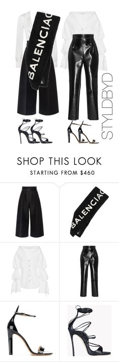 """Untitled #193"" by styldbyd ❤ liked on Polyvore featuring Martin Grant, Balenciaga, Caroline Constas, Philosophy di Lorenzo Serafini, Francesco Russo and Dsquared2"