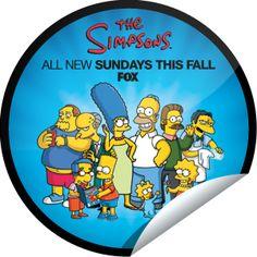 The Simpsons: Comic-Con 2012 Sticker | GetGlue
