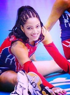Brenda Castillo, il libero della Repubblica Dominicana