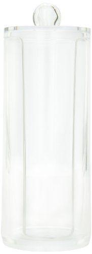 Danielle Cylinder Acrylic Cotton Pad Dispenser Danielle Enterprises,http://www.amazon.com/dp/B000XU49RW/ref=cm_sw_r_pi_dp_bYontb0K4CCV94N9