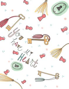 you have my heart. by RevelDesignsShop on Etsy