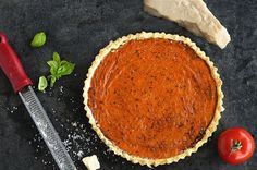 Perfect Summer Food - Tomato Tart Recipe