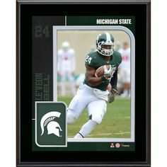 Le'Veon Bell Michigan State Spartans Fanatics Authentic 10.5'' x 15'' Sublimated Player Plaque