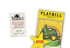 PLAYBILLder - Create Your Own Playbill for Your School or Amateur Stage Production - This gives me a great idea for the production program...