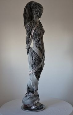 Richard Stainthorp Wire Sculptures      Facebook      Here  a number of unique examples of art and expression. Today we get a look at some unique sculptures, which are put together by a stunning use of wire. Today we get a look at the Wire Sculptures By Richard Stainthorp, created to showcase the beauty and mystery of the human body.These unique creations are large, unique, and eye-catching to say the least. The unique figures both in motion and at rest are created by using large-gauged…