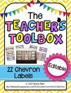 FREE!!!! CUTE!!! EDITABLE!!! Lowes Toolbox Labels - Free - did I mention Free? Did I mention cute?????