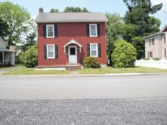 Welcome to the best kept secret of Northampton County. This charming 2 bdrm colonial is tucked away in Portland Borough, just up 512 & 611N. This property is convenient to Rt 80, just a mile from NJ. Perfect for a commuter looking for peace and quiet, yet convenient travel. This home offers privacy, beautiful shrubbery, & a large fenced in yard. Property features eat-in kitchen w center island & breakfast bar, brand new windows & a soon to be replaced toilet. Bring your decorating ideas!
