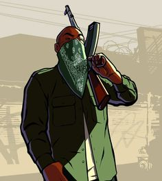 View an image titled 'Gang Member Art' in our Grand Theft Auto: San Andreas art gallery featuring official character designs, concept art, and promo pictures. Grand Theft Auto, Gta San Andreas Wallpapers, Gaming Wallpapers, Cute Wallpapers, Rockstar Games Gta, San Andreas Gta, Arte Do Hip Hop, Arte Cholo, Rauch Fotografie