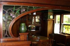 Interior Woodwork Details on a Craftsman Home
