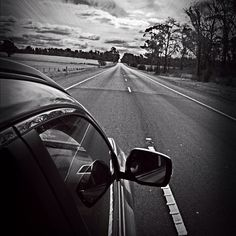 Nothing but the road ahead