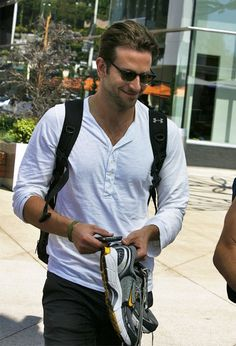 Bradley Cooper Photos: Bradley Cooper Leaving The Gym In West Hollywood