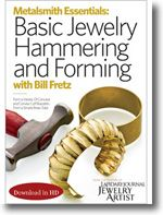 Metalsmith Essentials: Basic Jewelry Hammering and Forming from @Jewelry Making Daily