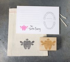 Tooth Fairy Visit Letter Kit & Stamp | Home Again Creative