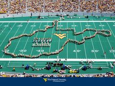 <3 Mountaineer Field- Country roads take me home!