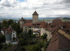 Medieval Murten Switzerland by Marilyn Dunlap