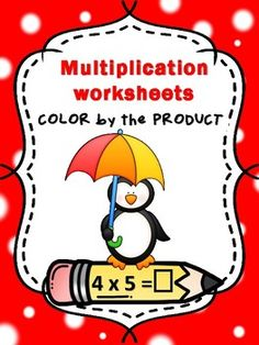 Color by the product  Multiplication  Homework  CCSS.MATH.CONTENT.3.OA.A.1This product includes 24 fun worksheets that ask the students to solve each multiplication problem, and then color some of the crayons by the given code.  The worksheets can be used as morning work, homework or review for quiz or test .Bonus: multiplication page by 0, 1, and 2 (in total 4 pages) .Happy teaching,Christian's Learning Center