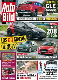 Revista #Autobild 467, #diciembre '14. Los #GTI atacan de nuevo. #Mini Cooper Vs #Ford Fiesta Sport.