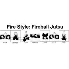 FIRE STYLE FIREBALL JUTSU